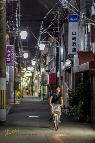 Bicycle riding is BIG in Japan. And why not, it's a remarkable good way to save money, exercise, save the environment, reduce the traffic and many more benefits, all at once! Osaka is a fine example of the bike-love I've seen in Japan.