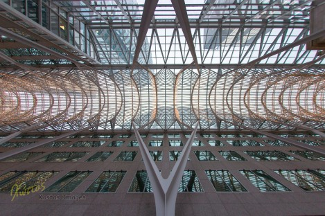 The amazing ceilings of Brookfield Place