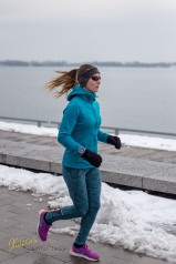 Keep fit, no matter what weather you have... Harbourfront, Toronto