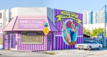Grafitti in Wynwood Walls