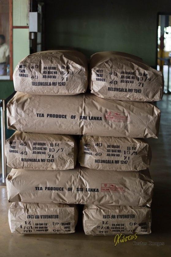 Those are some huge Bags of Tea! Tea factory, Nuwara Eliya, Sri Lanka