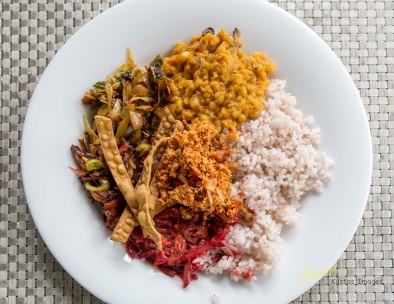 Delicious curry variety from plant based food.