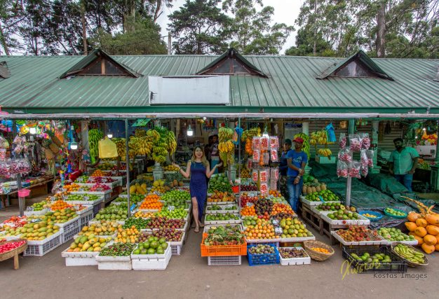 The fruit availability is such a pleasant surprise in Sri Lanka. they don't do it only for the tourists, they actually eat a lot of fruits. What a healthy habit. Here is one of the many fruit stands in the city of Nuwara Eliya, elevation of 1,868 metres above sea level.