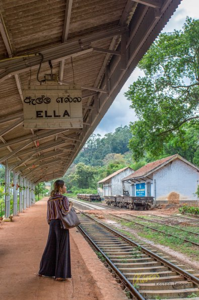 Railway station Ella, Sri Lanka