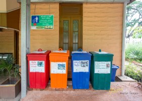 We all know garbage has to be segregated when disposed (right?). I'm happy that they are serious about it in the city of Ella, Sri Lanka.