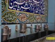 Mughal Masjid water faucet detail