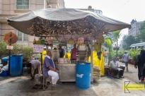 Sugar Cane juice stand in Mumbai