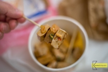 """The famous """"Stinky Tofu"""" of Taiwan that we tried was not from a restaurant but traditionally from a street vendor, home made. Note: it's not stinky at all, it's very tasty!"""